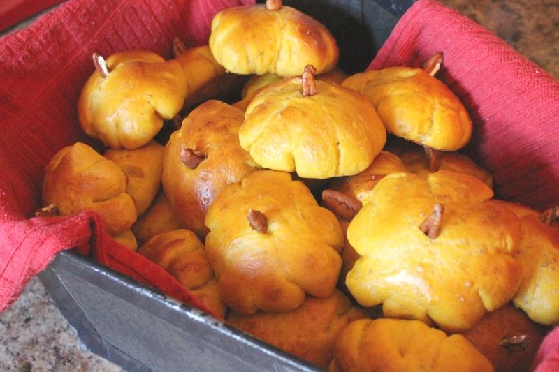 Pumkin rolls