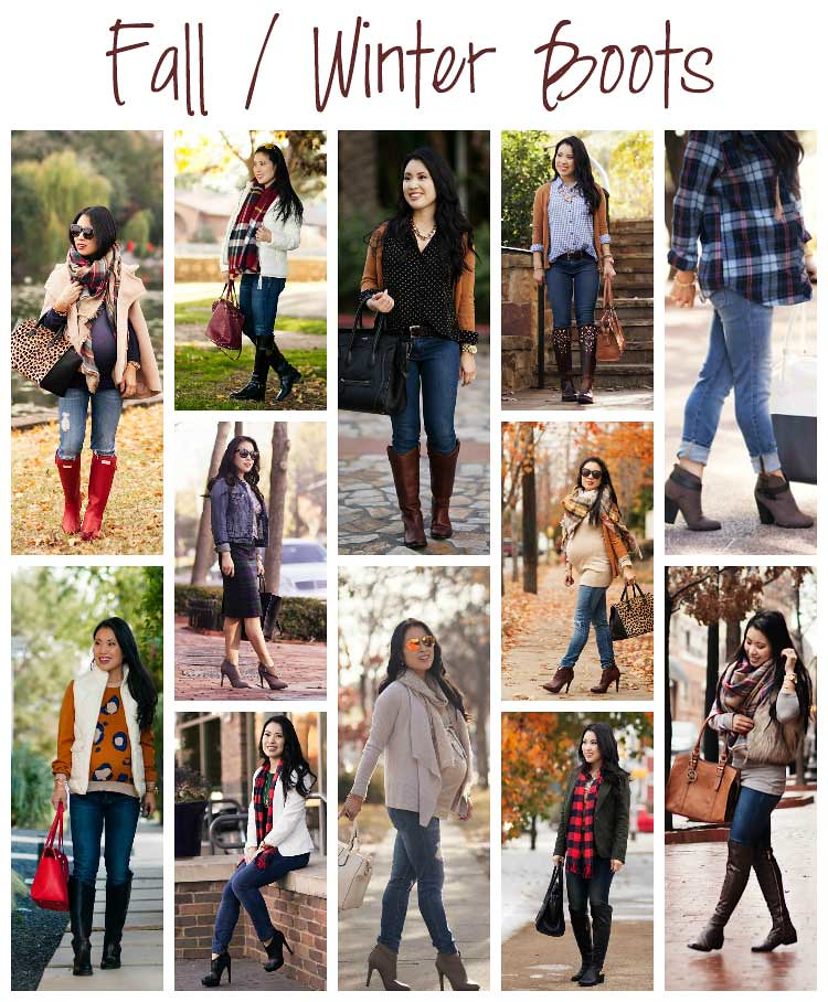 cute & little blog | petite fashion | fall winter boots