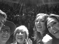 The greatest selfie of all at Carnegie Hall
