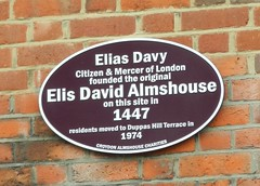 Photo of Black plaque number 30871