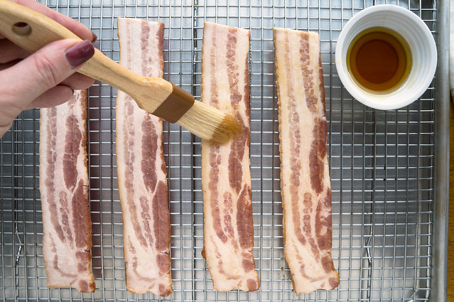 bacon and maple syrup