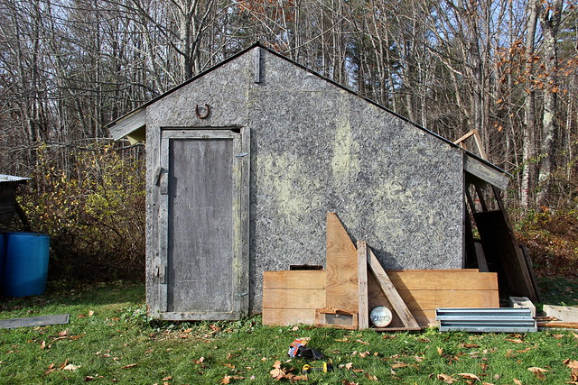 we're going to gut the old chicken coop