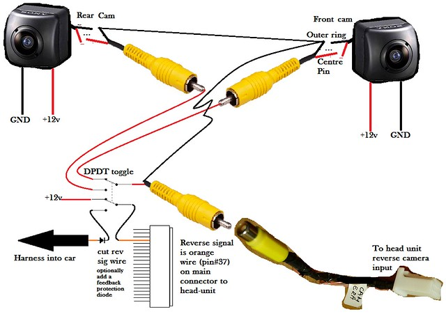 15857985961_f893f9c172_z review & install notes re legertas's '09 '14 mfd nav audio kenwood reverse camera wiring diagram at sewacar.co
