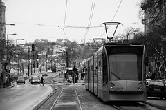 Tram on Boulevard