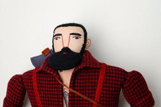 lumberjack face