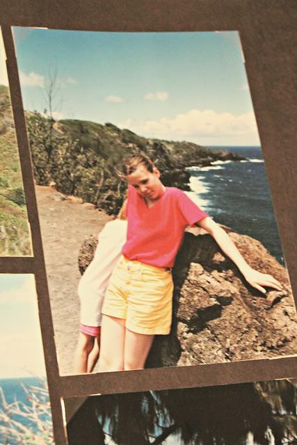 Jenni at Hawaii, 1996