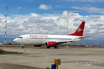 Peruvian B737-300 OB-2037 (F. Ruiz)
