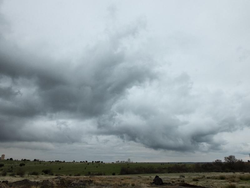 A punto de llover