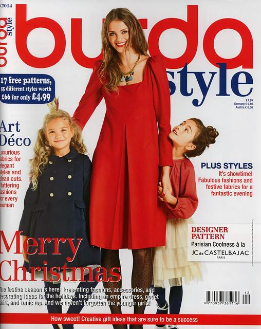 Burda-2014-December Cover