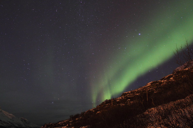 Northern Lights at Esfjordbotn