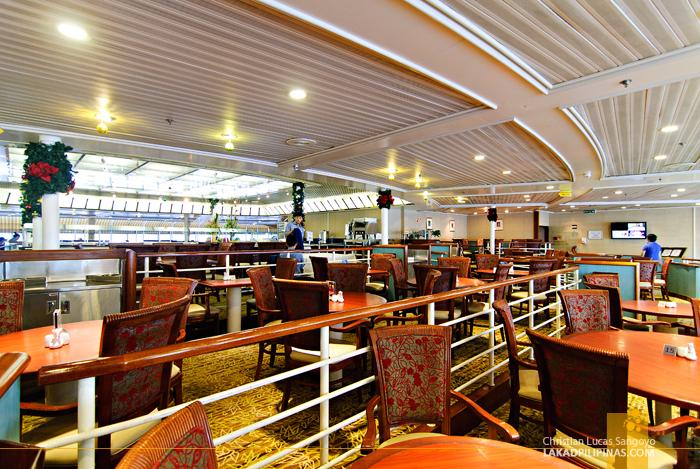 Mariners Restaurant at the Star Cruises Superstar Aquarius