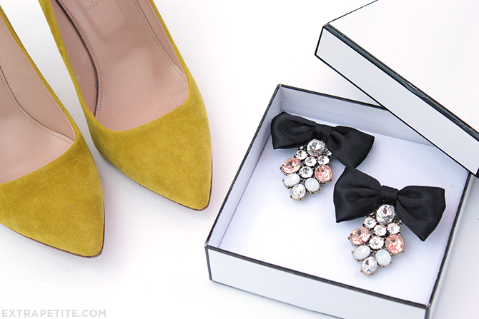 DIY shoe clips tutorial 5