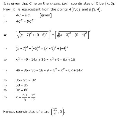 RD-Sharma-class-11-Solutions-Chapter-22-Brief-review-of-cartesian-system-of-rectangular-coordinates-Ex-22.1-Q-8