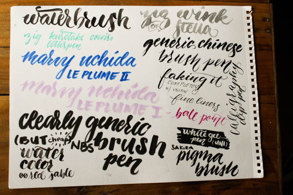 The best calligraphy supplies for beginners jetpens