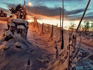 Snow Jessheim Norway