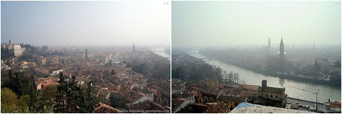 View of Verona from above