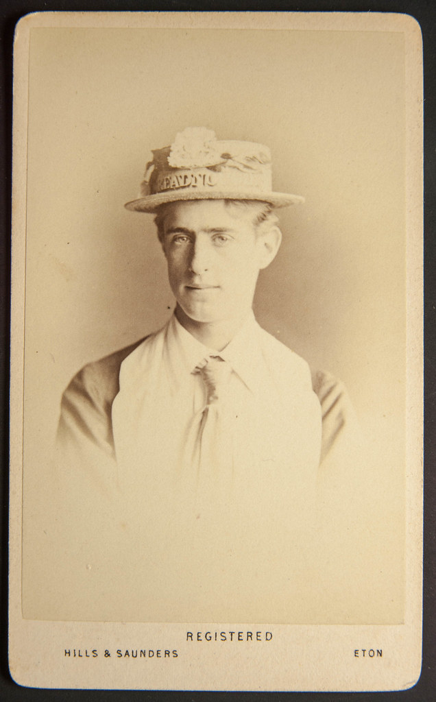 Carte De Visite By Hills Saunders Eton But Whats On The Hat