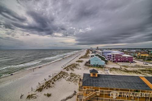 al alabama gulfshores beach cloudy gulf ocean vacation event