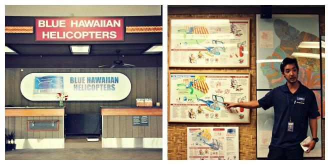 Blue Hawaiian Airlines check-in & turvallisuusohjeet