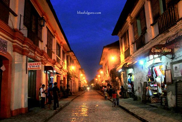 Vigan Ilocos Sur Calle Crisologo