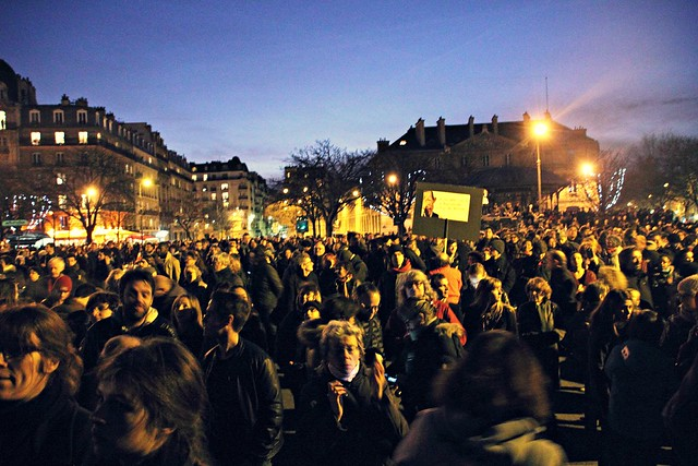 Place de la Nation, Paris, January 11th
