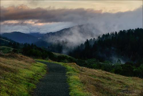 Peaceful hike