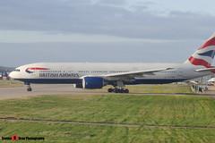 G-YMMU - 36519 796 - British Airways - Boeing 777-236ER - Heathrow - 141220 - Steven Gray - CIMG5311
