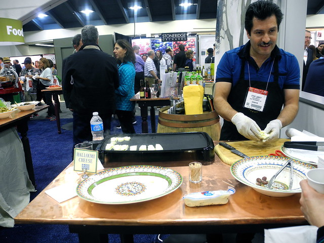 Winter Fancy Food Show Halloumi