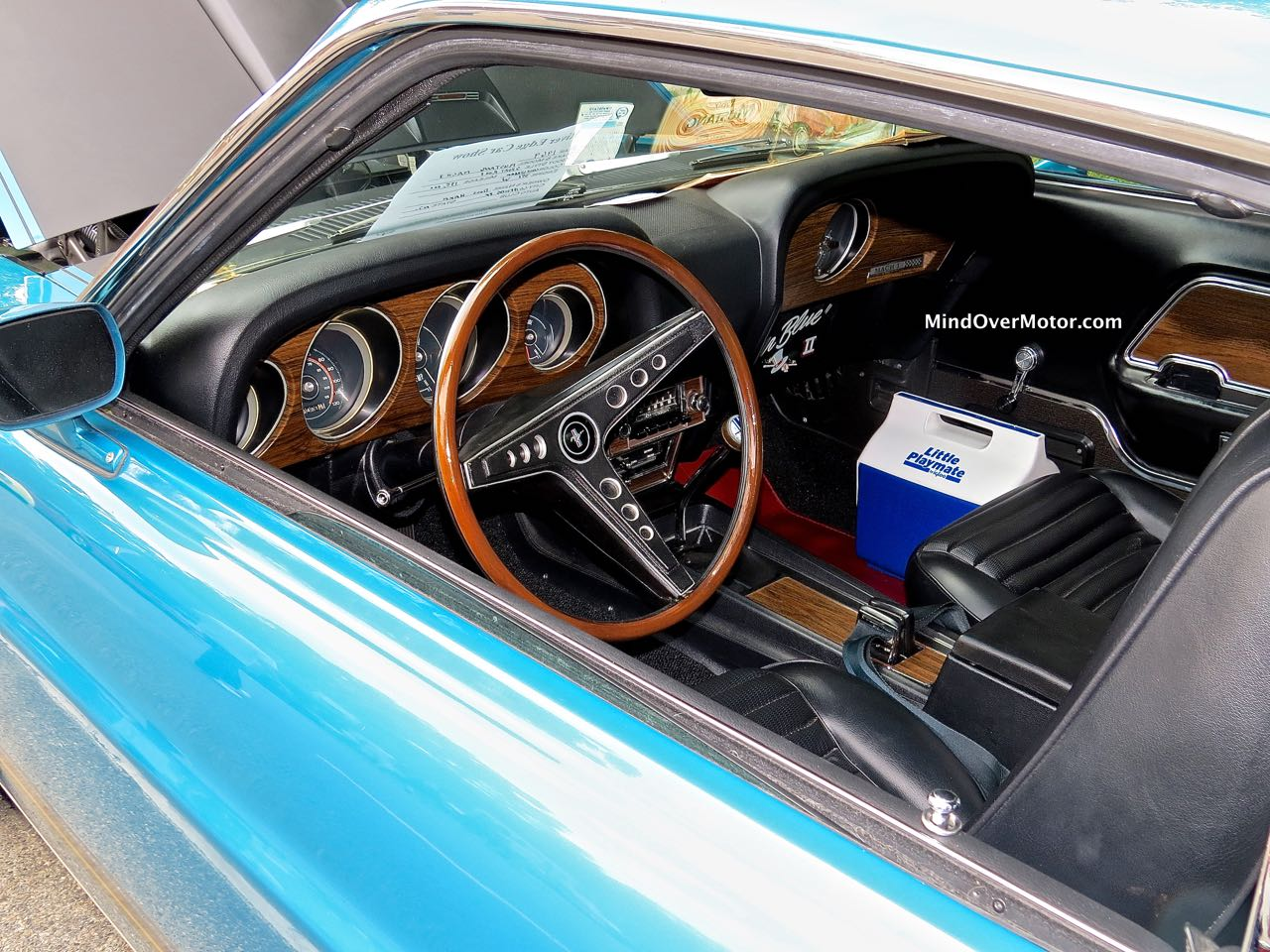 1969 Mustang Mach 1 Instrument Panel