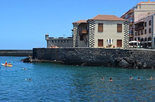 Harbour, May, Puerto de la Cruz, Tenerife