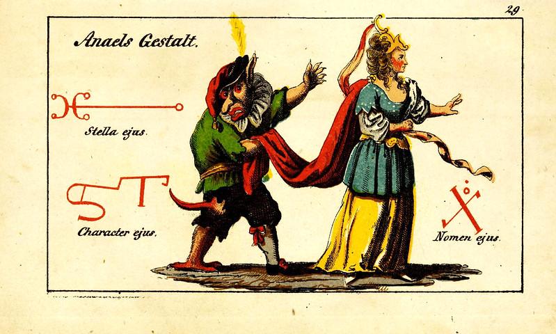 Johann Scheible - Doktor Johannes Faust's Magia naturalis et innaturalis, 1849 (24)