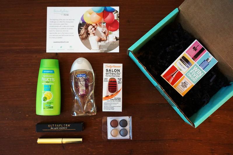 Beauty Box 5 January 2015 1