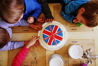Page 16 out of 365: Kinder und Kuchen