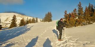 Darren Climbing Mt. Elbert