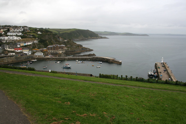 Approaching Mevagissey