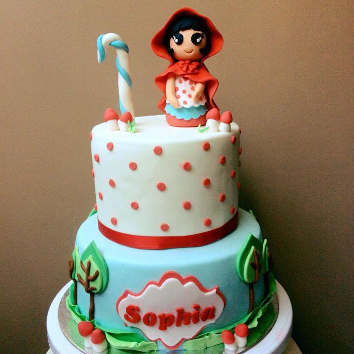 Little Red Riding Hood Cake by Angelica Rose Delos Reyes - Alovera