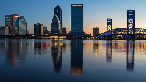 sunrise dawn jacksonville riverfront