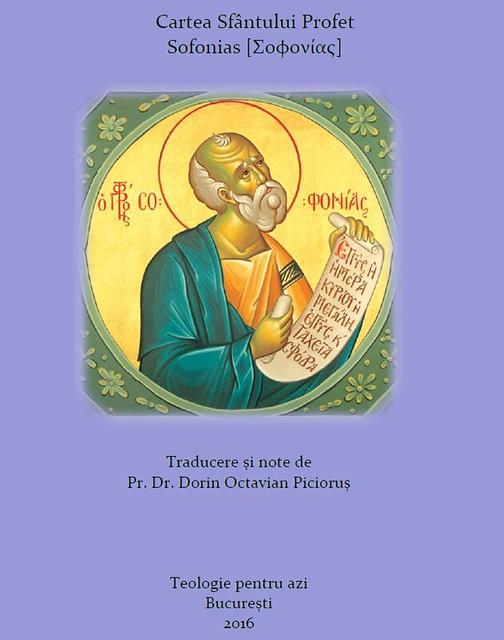 Cartea Sfantului Profet Sofonias