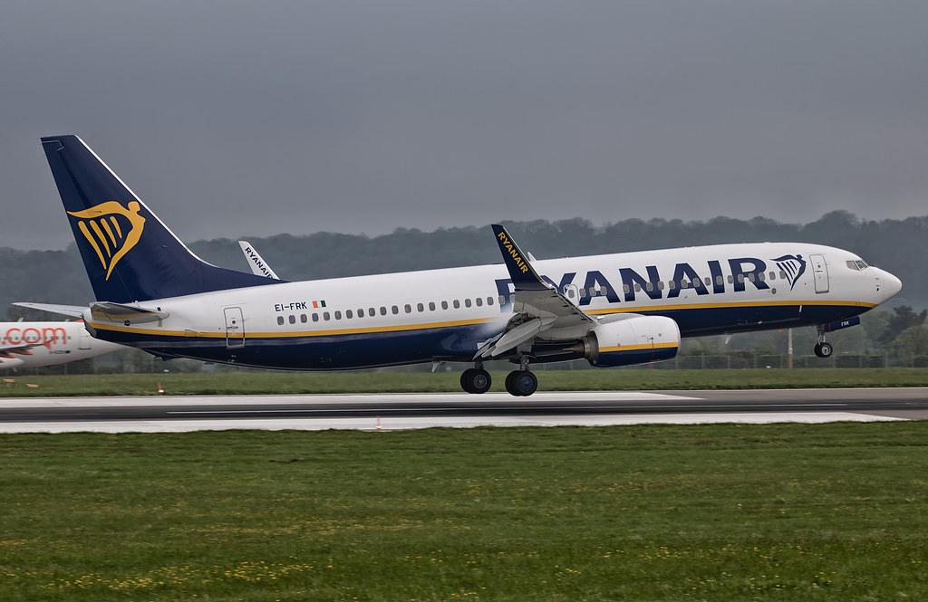 EI-FRK - B738 - Ryanair