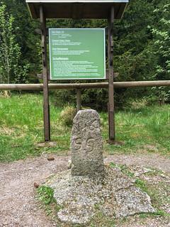 Dietzel-Geba-Stein am Rennsteig