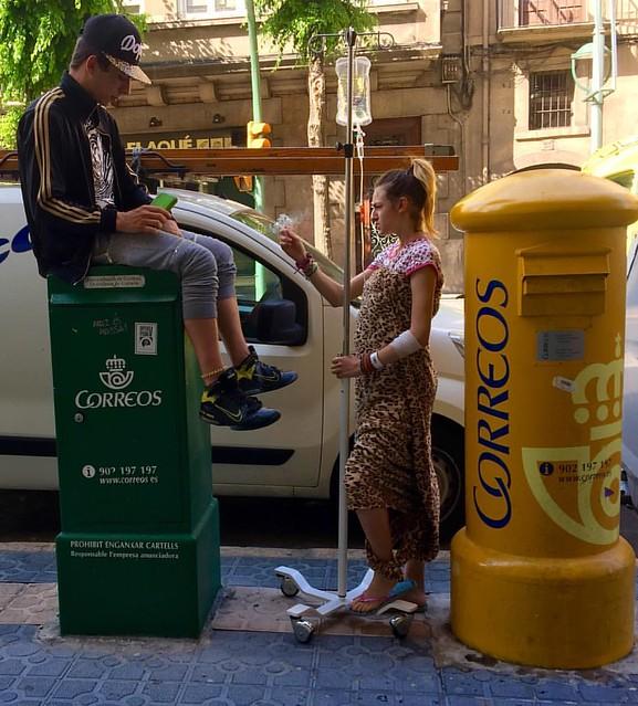 Correos en vena. #igerstgn #tarragona #urbanphotography