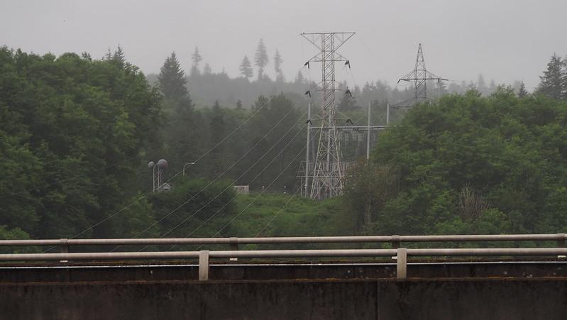 Mossyrock Dam Transmission Lines