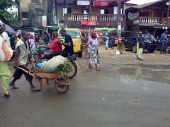 Street scene in Ojo, Lagos, Nigeria. #JujuFilms