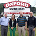 (L to R) Joe Carelli, President of the Lumber Distributors Association of CT (LDAC) (also in charge of Contractor Sales at Oxford Lumber), Ashley Ennis, Manager of Government Affairs for the Northeastern Retail Lumber Association (NRLA), Rep. Labriola and Vice President and General Manager of Oxford Lumber John Intravaia.