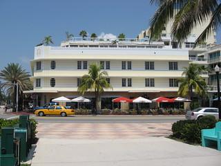 Art Deco Building South Beach