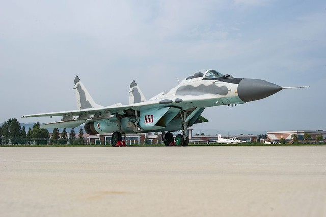 Το λιγότερο από σπάνιο MiG-29.