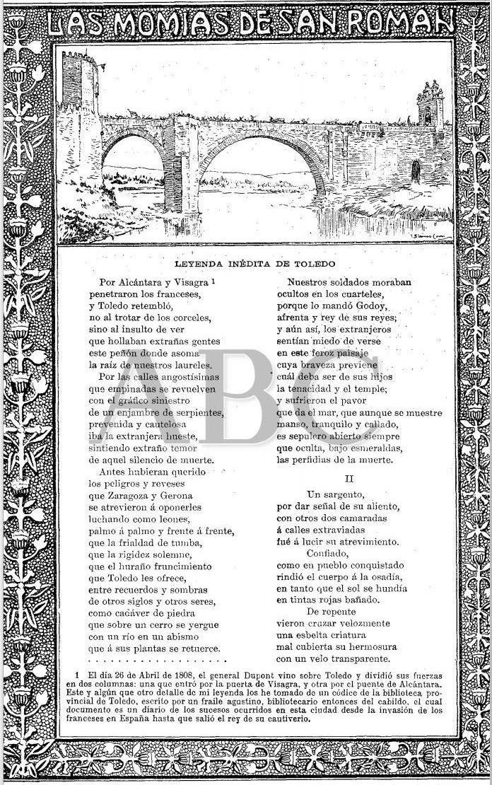Artículo sobre las Momias de San Román por Rafael Torromé, publicado el 20 de septiembre de 1902 en ABC