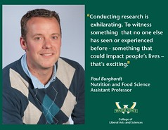 #FacultyFacts highlight CLAS professors who inspire Wayne State students in and out of the classroom. Meet Paul Burghardt.