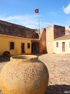 Afbeelding van Castro Marim Castle. castle portugal faro algarve castillo castromarim