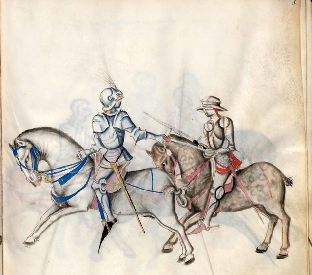 001-Kal Paulus Fechtbuch gewidmet dem Pfalzgrafen Ludwig- BSB Cgm 1507- Bayerische StaatsBibliotehek